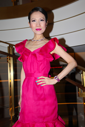 Chiu-Ti Jansen Hosted Van Cleef & Arpels' Poetic Astronomy Launch Celebration