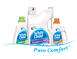 White Cloud® Laundry Detergent Removes Grass Stains Better Than Other Leading Value Detergents