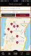 Burgerator lets users find burgers nearby (in either a list or map view) and sort them by distance and rating