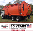 Minimizer Fenders Are Number One in the Refuse Industry