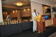 Dr. David Clark, CEO, Chester Community Charter School (CCCS), delivers remarks prior to the issuing of trophies to this year's basketball, baseball, softball, and cheerleading teams, at the school's