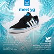 """The Shiekh Shoes exclusive Seeley """"Palm"""" by adidas will launch Saturday, May 24, at the Westfield Culver City location."""