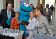The USO and Sesame Street Bring Elmo, Grover, Cookie Monster and Their New Friend Katie to Congress for Service Project