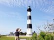 The 1871 Bodie Island Lighthouse is now open for climbing!