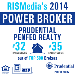RISMedia 2014 Power Broker Prudential PenFed Realty