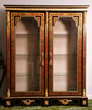 Napoleon III Style Boulle Wall Cabinet