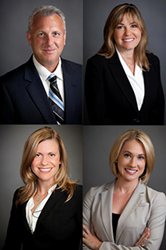 Wheaton Family Attorneys George S. Frederick, Lynn M. Mirabella, Christa M. Winthers & Lindsay C. Stella