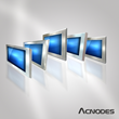 Acnodes Corporation's New Stainless Steel, Water-Proof Panel Mount Monitor Series