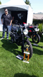 British Customs and some of their bikes on the concours.