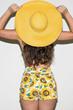 oasap shorts, fashion shorts, vintage shorts, sun flower print shorts, print shorts