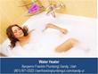 Benjamin Franklin Plumbing, Sandy UT Water Heater Installation and...