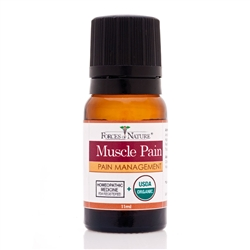 Muscle Pain Management - 11ml Bottle - Muscle Pain Treatment from Forces of Nature
