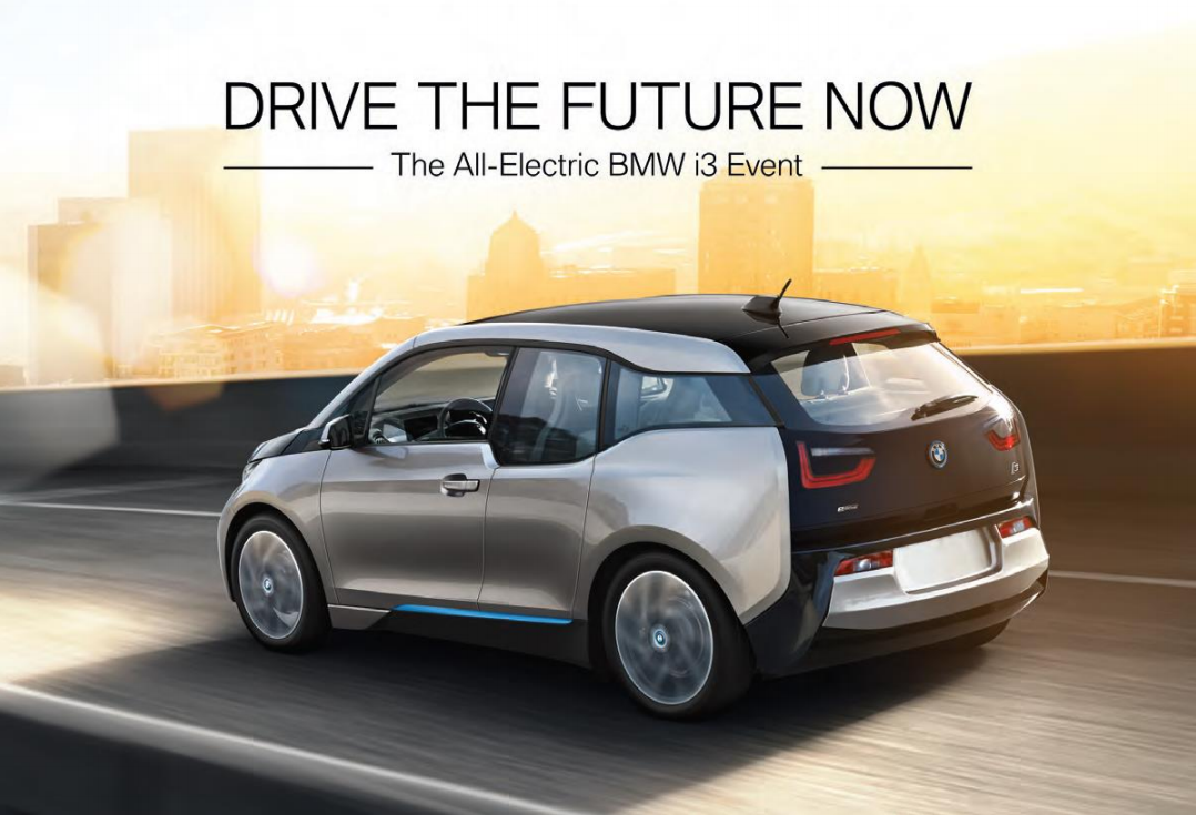 bmw of reading to host all electric bmw i3 test drive event. Black Bedroom Furniture Sets. Home Design Ideas
