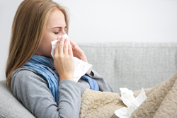 Stop flu symptoms