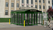 Velodome Shelters Introduces Bike Parking Shelters Geared for Parking Lots