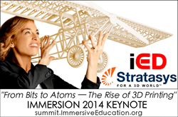 IMMERSION 2014 Keynote - From Bits to Atoms - Stratasys keynote