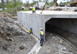 New Sugar Ridge Road Bridge in North Ridgeville, Ohio, Nears...