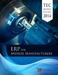 TEC 2014 ERP for Midsize Manufacturers Buyer's Guide
