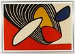 "Alexander Calder, ""Navarra,"" Lithograph"