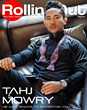 Tahj Mowry Covers Rolling Out Magazine