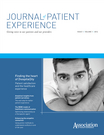 Journal of Patient Experience, Vol. 1, Issue, 1