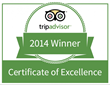 Vajra Sol Yoga Adventures Wins 2014 Certificate of Excellence from...