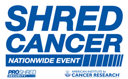 Shred Cancer Nationwide Community Shredding Event
