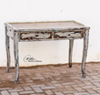 Uttermost Honovi Distressed Writing Desk 25598