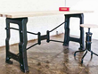 V8 Desk In Weathered Oak From Nuevo Living HGDA115