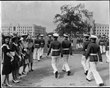Girls visit The S.C. Corps of Cadets in 1943