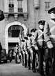 Cadets marching to the parade ground - 1940's