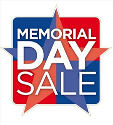 Memorial Day Sale 7% Off All Orders