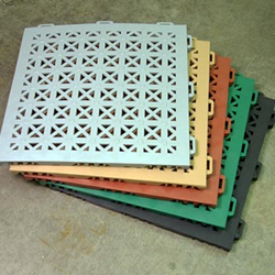 Greatmats Introduces Staylock Perforated Tiles