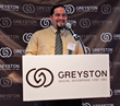 Greyston employee Julian Vasquez speaks about his experience working as a building superintendent and the positive impact that Greyston has had on his life before introducing honoree John Tolomer at G