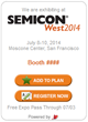 SEMI Offers a2z-powered Attendee Acquisition Widget for Exhibitors to Boost ROI at its 2014 SEMICON West – Annual Conference &Tradeshow