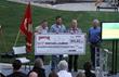 Maverik, Inc. Presents Check to Sportsmen for Warriors at Benefit...