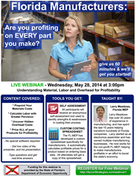 FLMEP offers free live Profitability Webinar on May 28 at 3pm