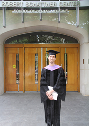 Zachary Korwin DMD at the University of Pennsylvania School of Dentistry Commencement