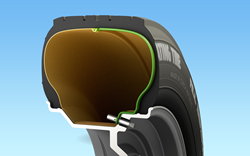 RETROFIT Self-Inflating Tire by CODA Development