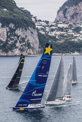 Europa 2  at the Rolex Capri Sailing Week