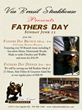 Father's Day Specials at Via Brasil Steakhouse in Las Vegas this 2014