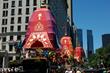 5th Avenue Krishna Parade - 3 Chariots