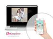 Using Keepchest, guests upload, view and share photos and videos, sign your guestbook, view wedding info and more using their smartphone—culminating in an elegant wedding web site.
