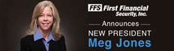 First Financial Security President Meg Jones