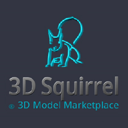 Online Digital 3D Model Marketplace - http://www.3DSquirrel.co.uk