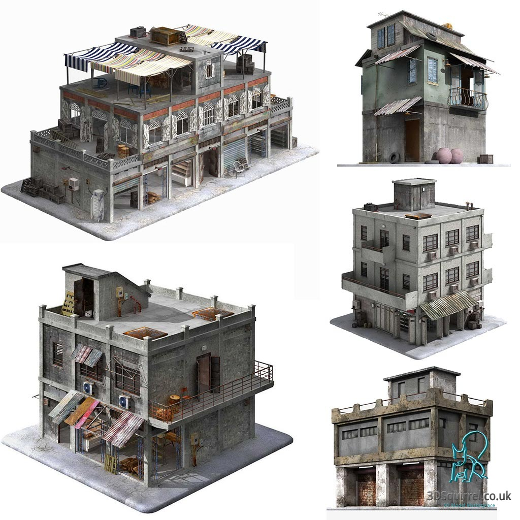 Digital 3d model marketplace 3d squirrel launches new website for 3d house builder online