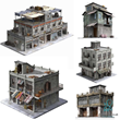 Game Ready 3D Model Building Collection for Sale in 3D Squirrel's Marketplace