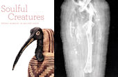 Ibis mummy and its digital X-ray image