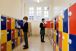 By choosing lockers, schools conform to existing best practice because the Fire Safety Risk Assessment Guidance for Education Premises advise that only non-combustible lockers should be used along corridors.
