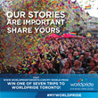 #MYWORLDPRIDE Project - Share Your Pride Story and Win a Trip for Two...